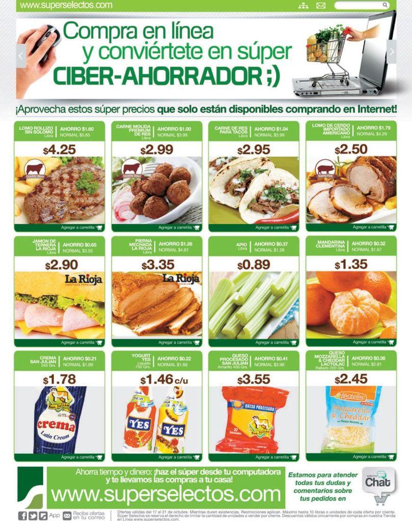 super selectos ofertas y Compras online - 17oct14