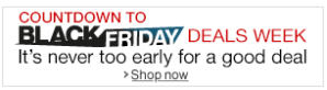 AMAZON count down black friday deals