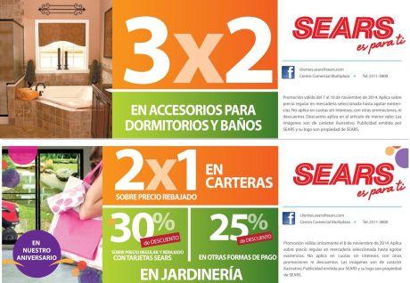 Acercate a las promociones SEARS fin de - 08nov14