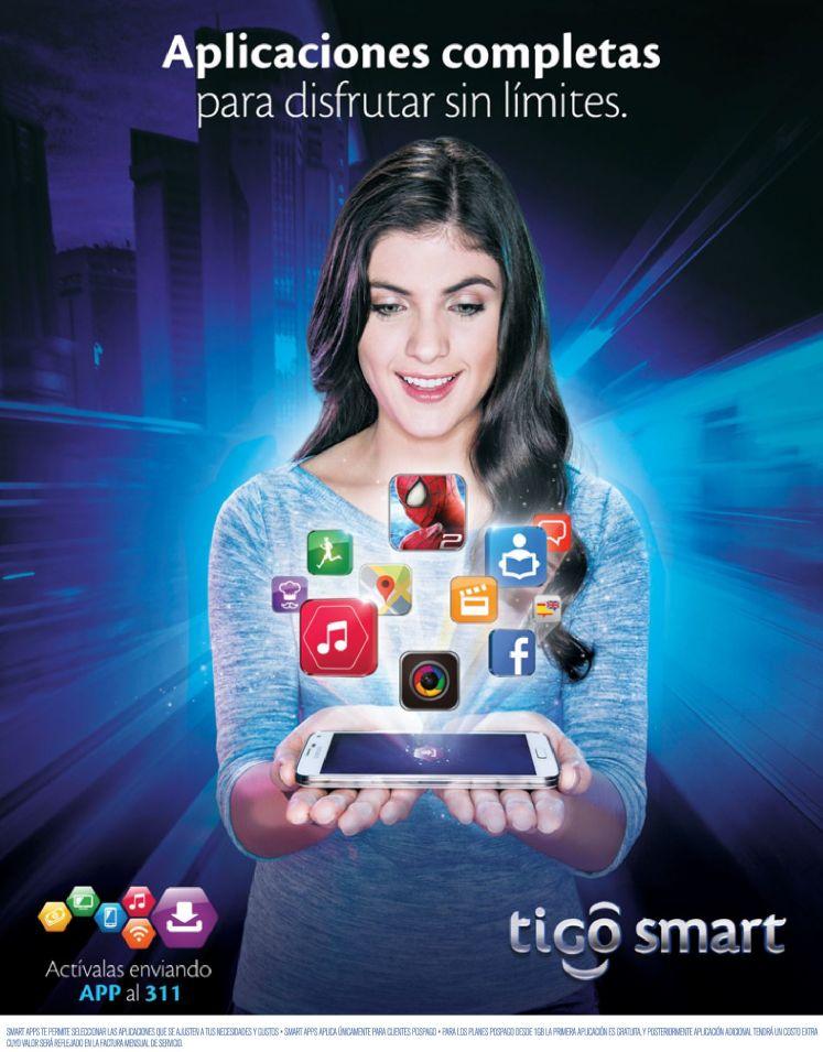Activas las mejores APP con TIGO SMART - 12nov14