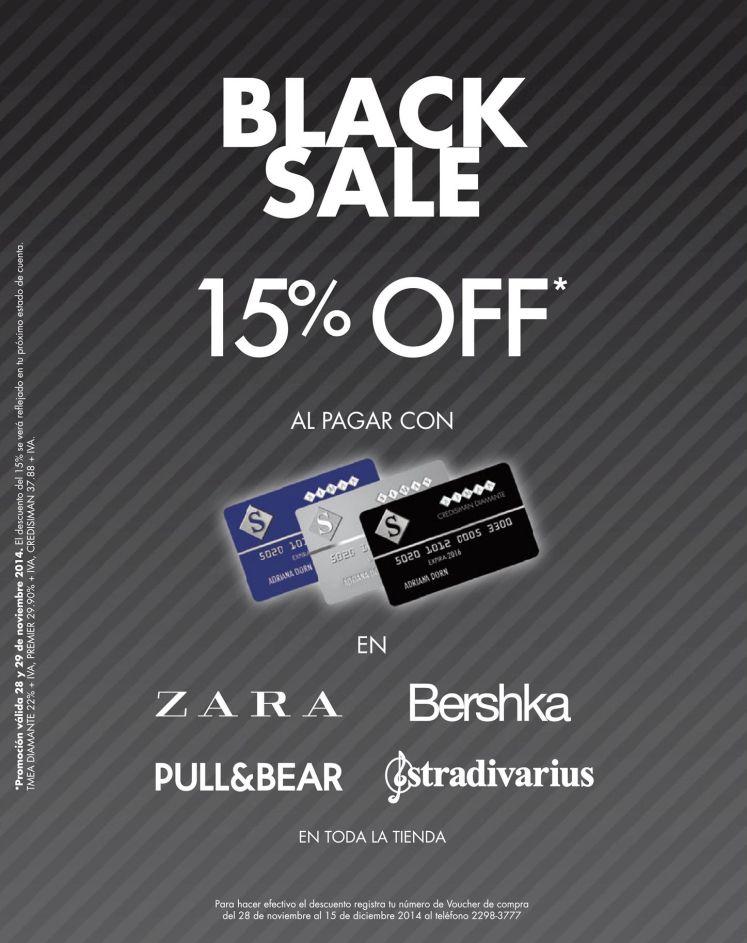 BLACK SALE tus marcas fashion - 28nov14