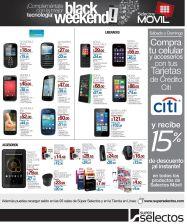 BLACK weekend offers MOVILES seelctos - 28nov14