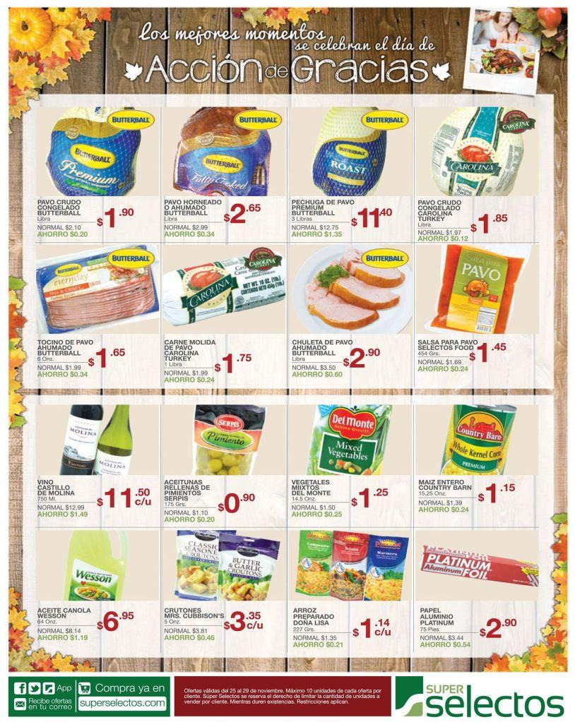 Cocina y Comidad dia de accion de gracias - 25nov14