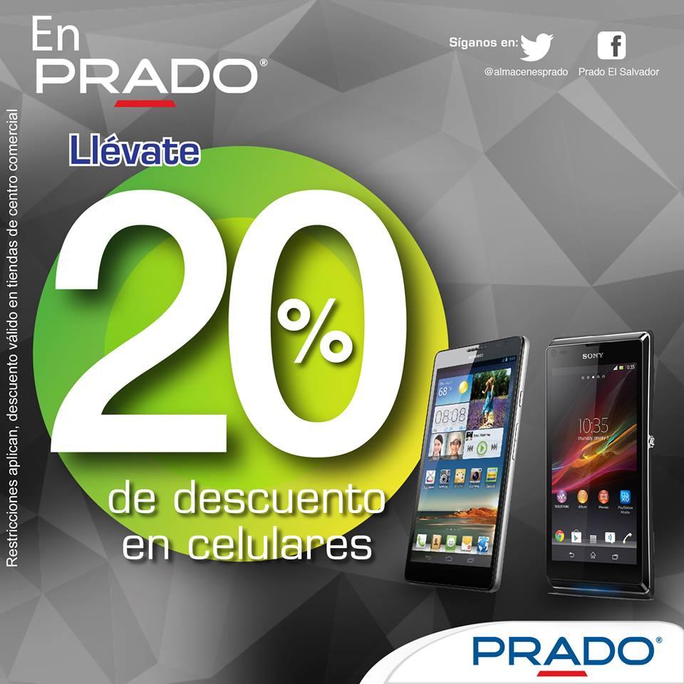 Descuentos PRADO smartphone celulares - 12nov14