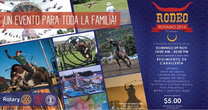 Evento familiar RODEO rotario 2014