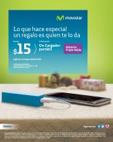 GRATIS power bank para tu celular por tus recargas MOVISTAR