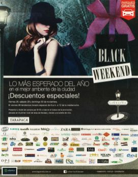 Lo mas esperado BLACK WEEKEND la gran via - 24nov14