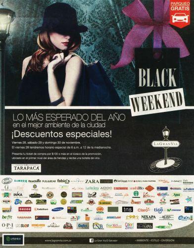 Lo mas esperado BLACK WEEKEND la gran via - 24nov14