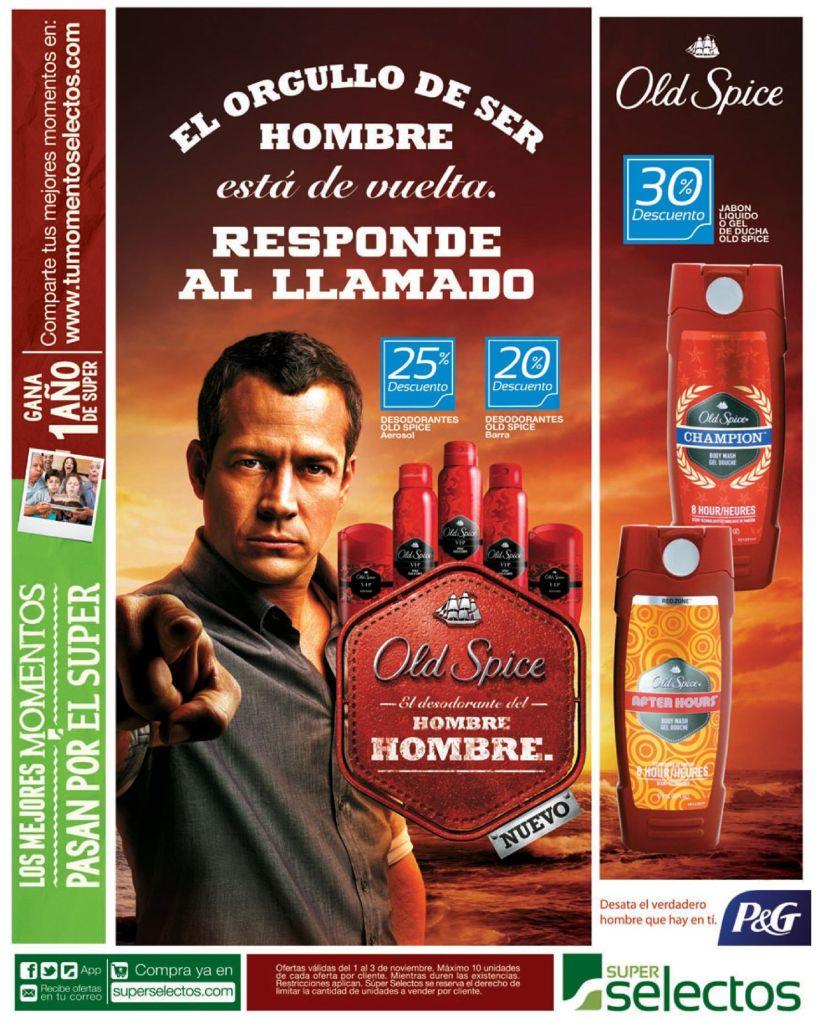 Orgulloso de ser hombre OLD SPICE desodorante - 01nov14