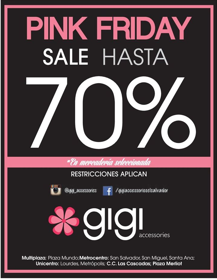 PINK FRIDAY sale - 28nov14