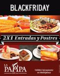 Promocion 2x1 black friday restaurante la PAMPA - 27nov14