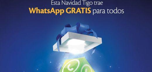 Promociones TIGO whatsapp GRATIS nov dic 2014