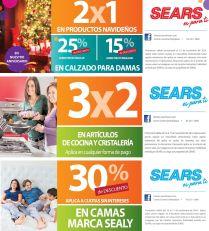 SEARS promociones descuentos de fin de semana - 15nov14