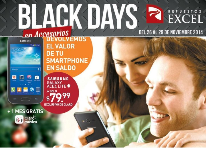 black days miercoles 26nov14
