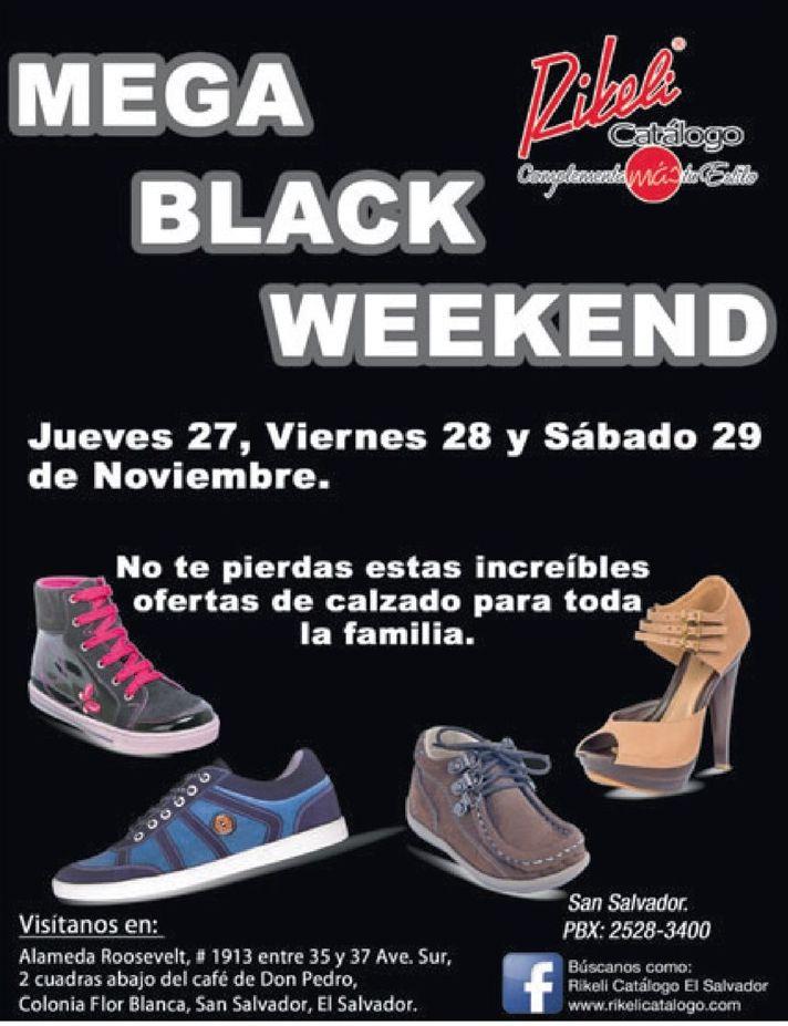 calzado RIBELI mega black weekend - 27nov14