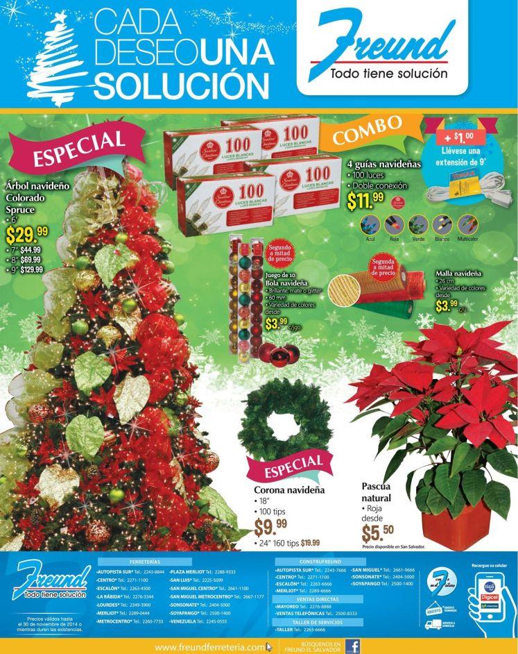descuentos FREUND compras de accesorios de navidad - 07nov14