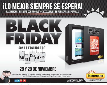 exclusive products BLACK FRIDAY la curacao - 25nov14