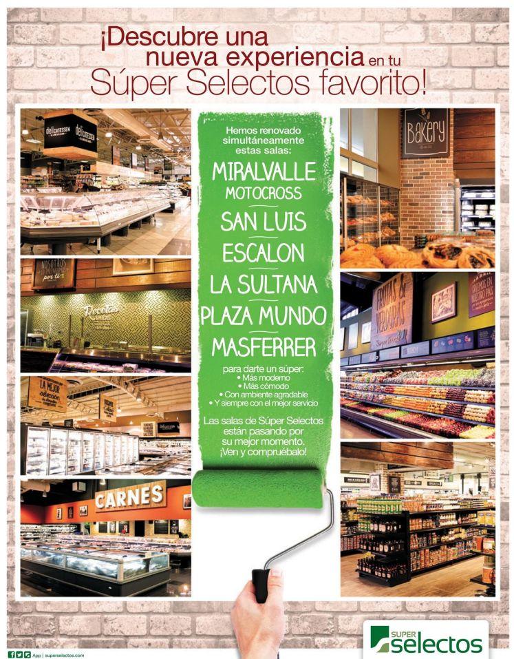 new design SUPER SELECTOS supermarkets