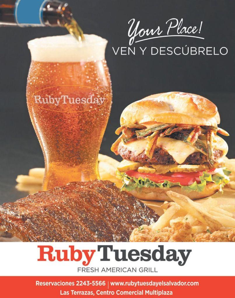 new restaurant TERRAZAS MULTIPLAZA Ruby Tuesday fresh american GRILL