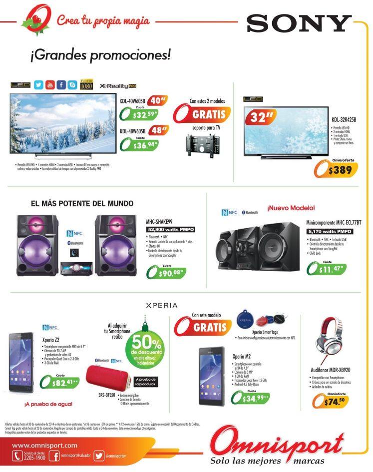 omnisport grandes promociones de fin de semana - 22nov14