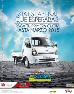 promocion en camiones de carga KIA - 25nov14