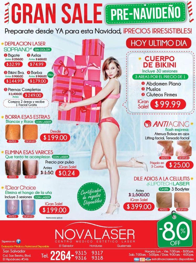 promociones para tu cuerpo gran sale pre navideño - 13nov14