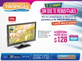 tripogas ofertas televisor pantalla TLC - 06nov14