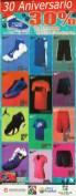 30 OFF de aniversario en productos deportivos - 12dic14