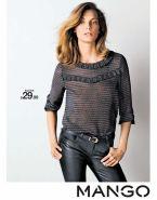 BLUSA ofertas MANGO store fashion - 17dic14