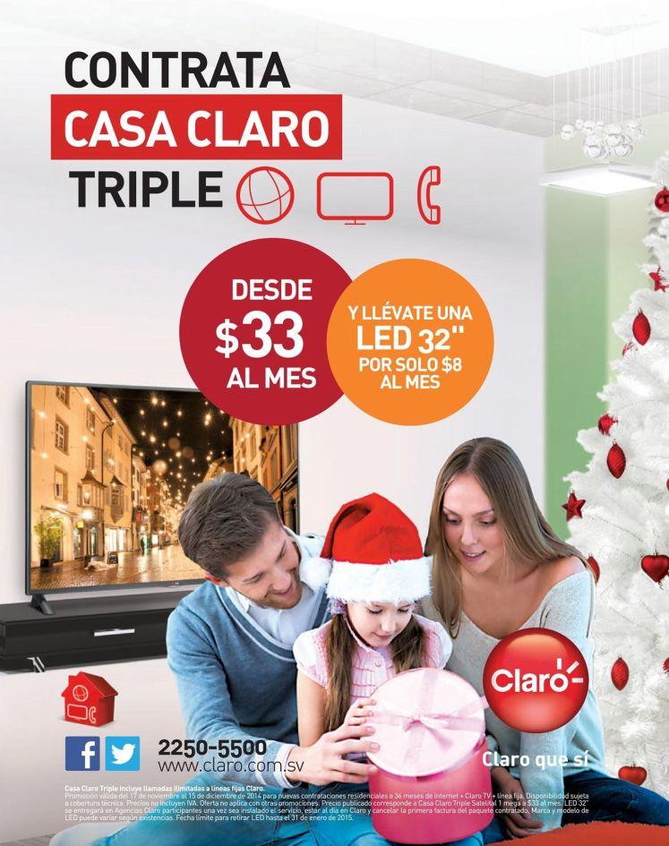 Contrata CASA CLARO y llevate un LED - 08dic14