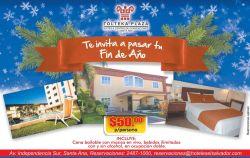 Fiestas de fin de anio en HOTEL TOLTEKA PLAZA