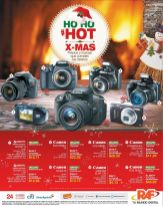 HOT Christmas promotion CANON CAMERAS - 01dic14