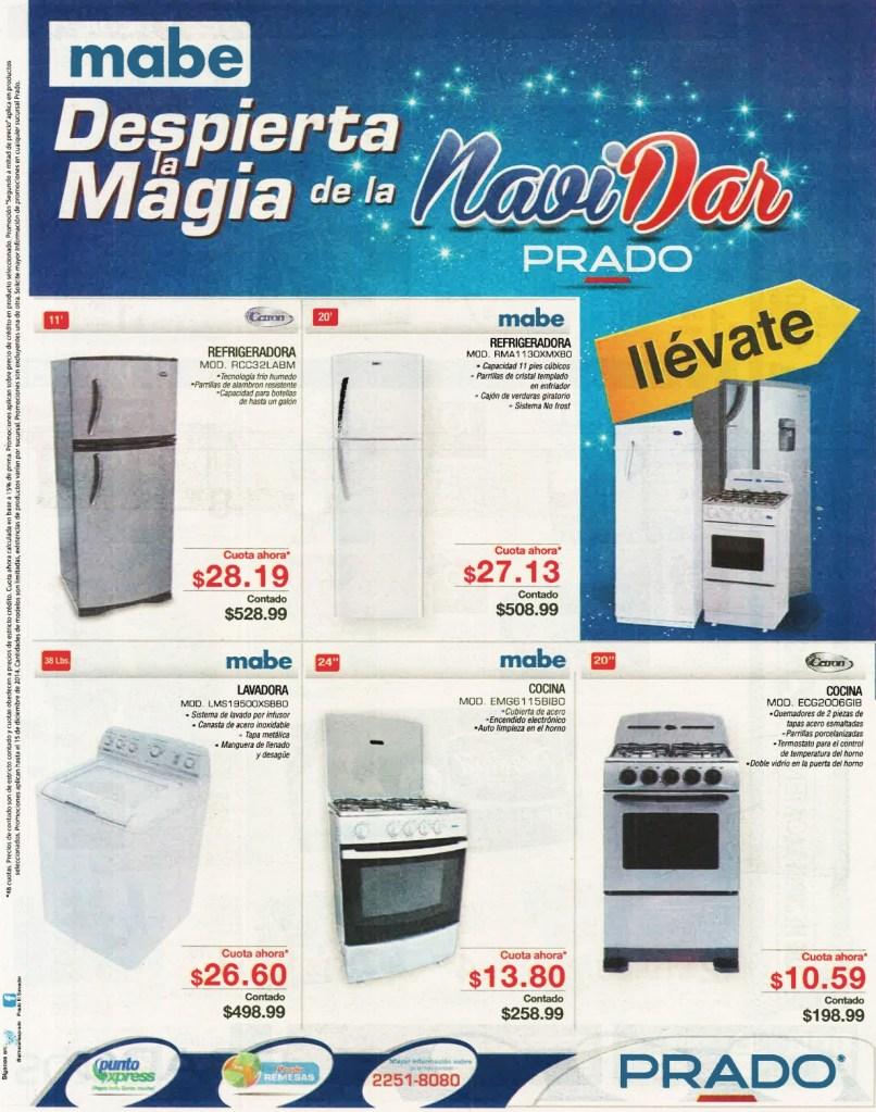 MABE ofertas de NAVIDAD PRADO - 12dic14