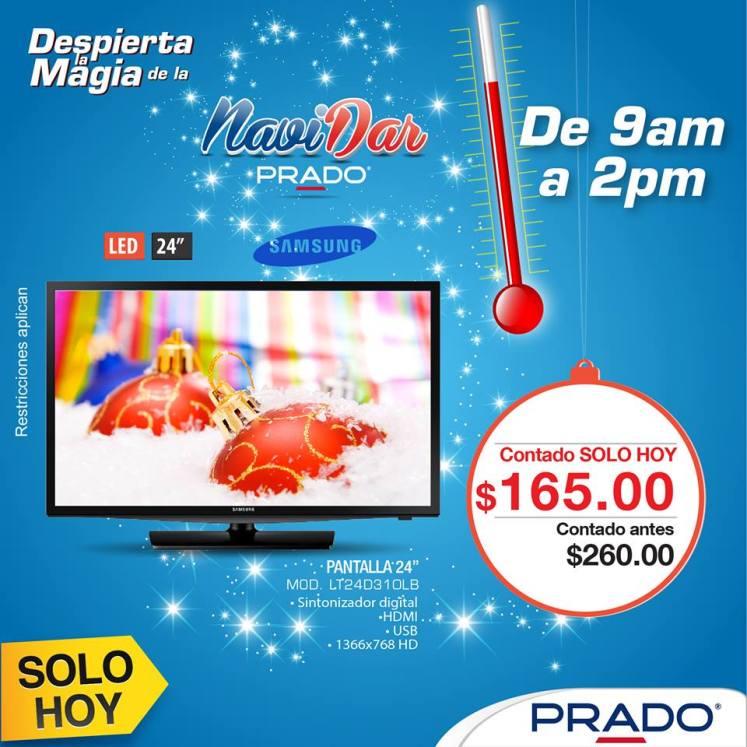 PRADO oferta Pantalla LED 24 pulgadas samsung - 09dic14
