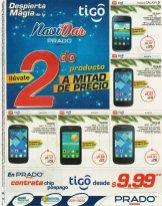 PRADO ofertas en smartphone con sim TIGO - 10dic14