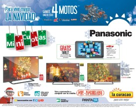 Pantallas LED HD tv panasonic - 09dic14