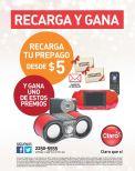 Recarga tu telefono CLRARO y GANA premios - 23dic14
