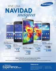 SAMSUNG experience store christmas promtoions - 23dic14