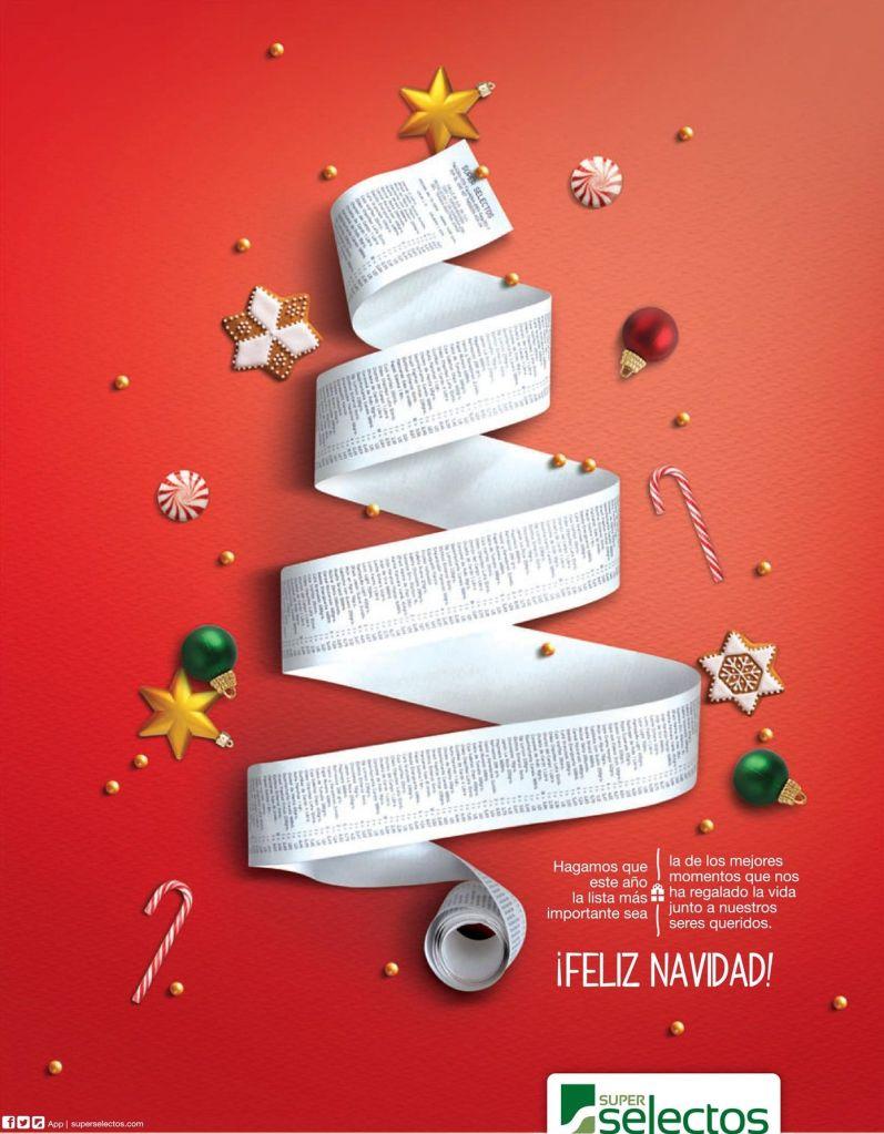 SUPER SELECTOS saludos de navidad - 24dic14