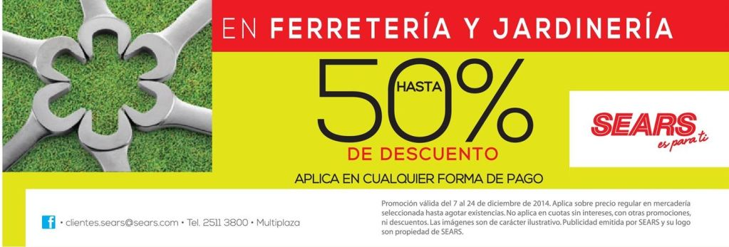 TODAY great discount JARDINERIA y ferreteria - 15dic14