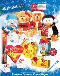 WALMART ofertas regalos dulces chocolates peluches - 12dic14