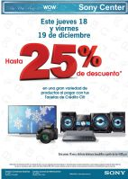 WOW disocunts sony center technology - 17dic14