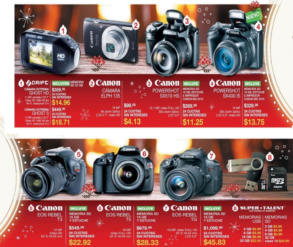 camaras fotograficas CANON pro and semi pro