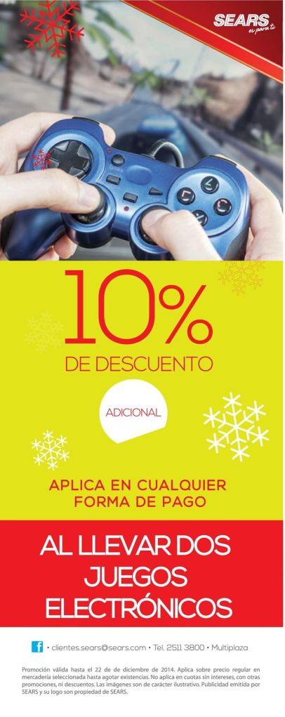electronic VIDEO GAMES discounts - 13dic14