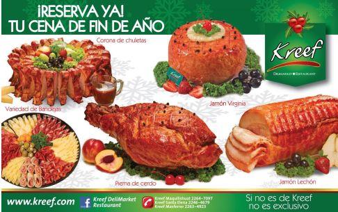 platillos GOURMET to celebrate new year
