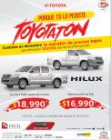 promociones en pick up TOYOTA - 02dic14