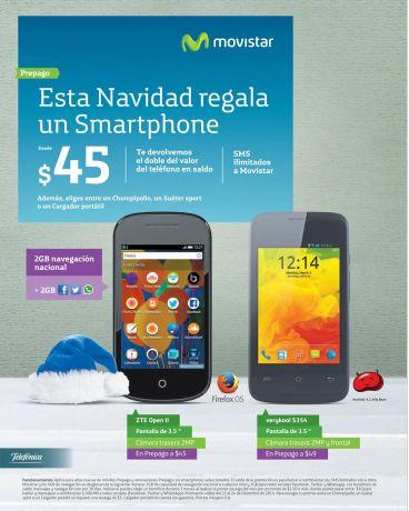 regalar un smartphone movistar en navidad - 22dic14