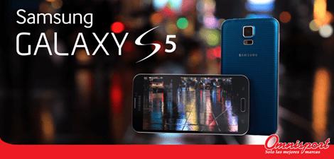 samsung galaxy s5 disponible en omnisport - 31dic14