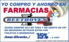 Ahorro en tus compras de medicinas FARMACIAS BEETHOVEN - 23ene15