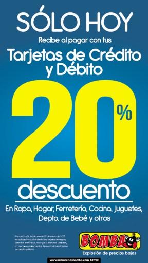 Apparel home store Debit card discount credit card - 27ene15